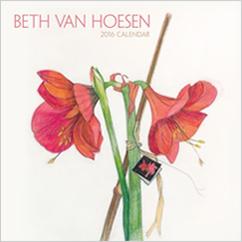 Beth Van Hoesen  2016 Mini Wall Calendar