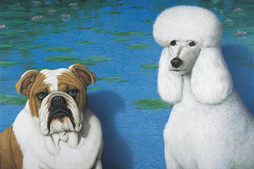 Butch & Ginger Always Love Monet