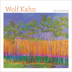 Wolf Kahn 2017 Mini Wall Calendar