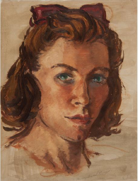 Portrait of Edie