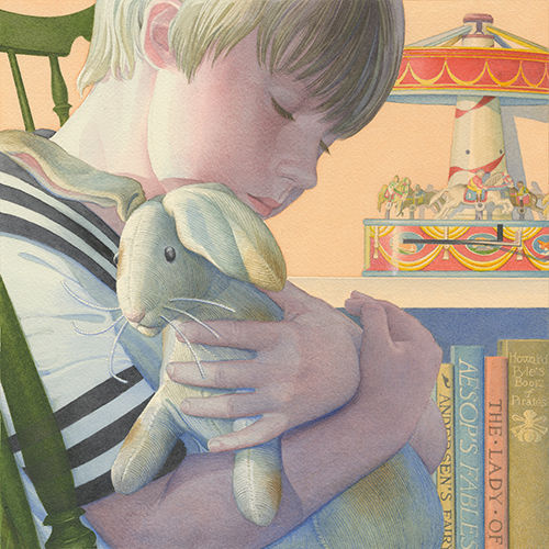 The Boy and His Rabbit