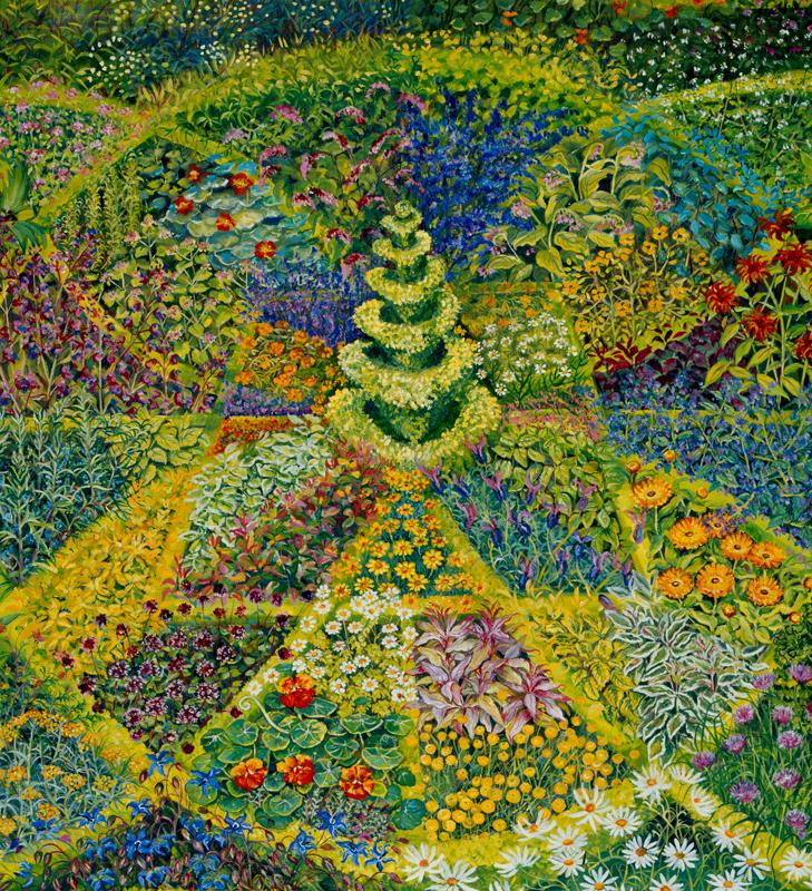 Geometric Herb Garden